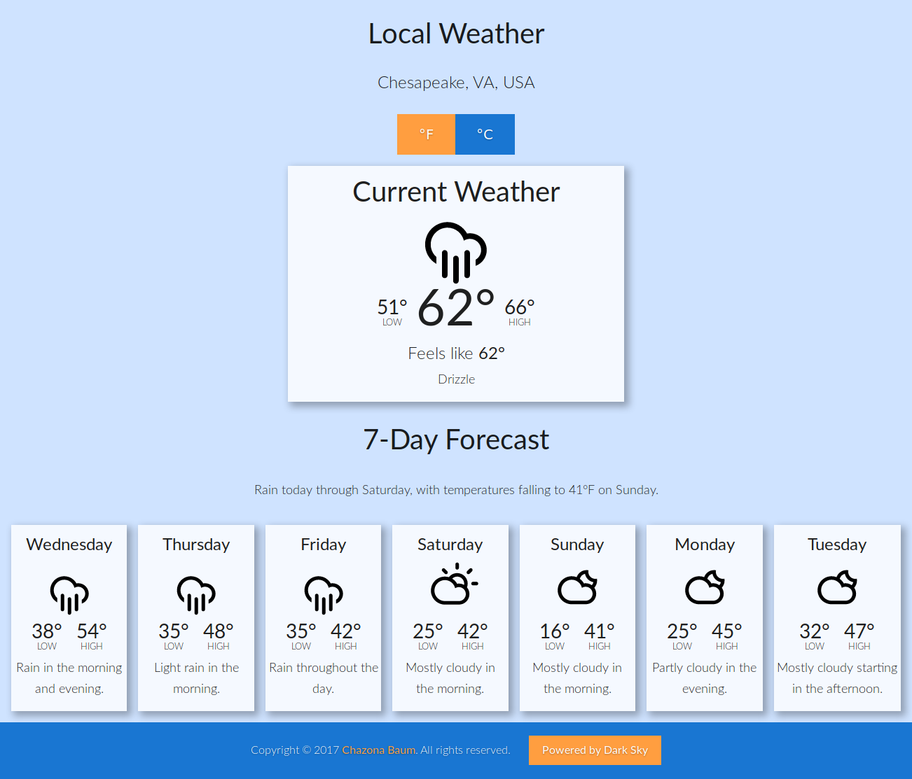"""[""""Local Weather""""]"""