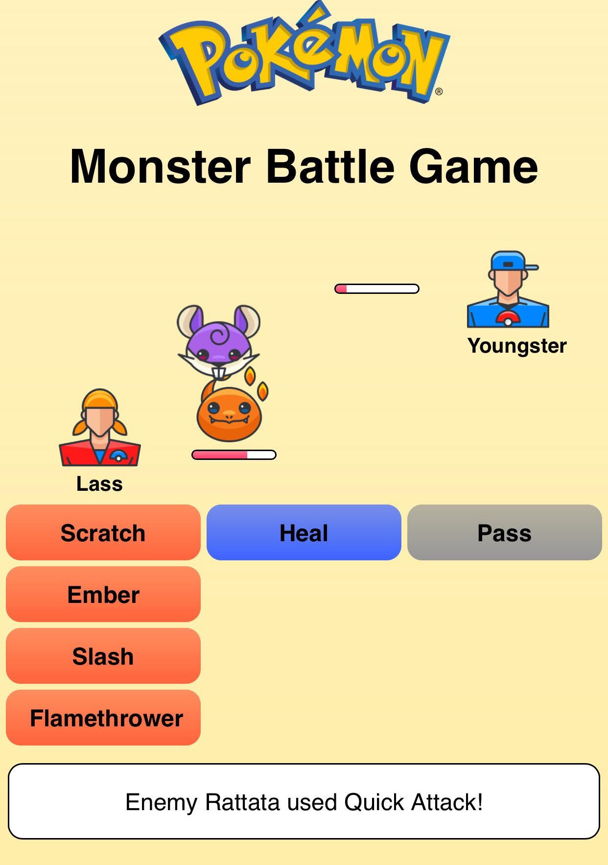 "[""Pokémon Battle Game""]"