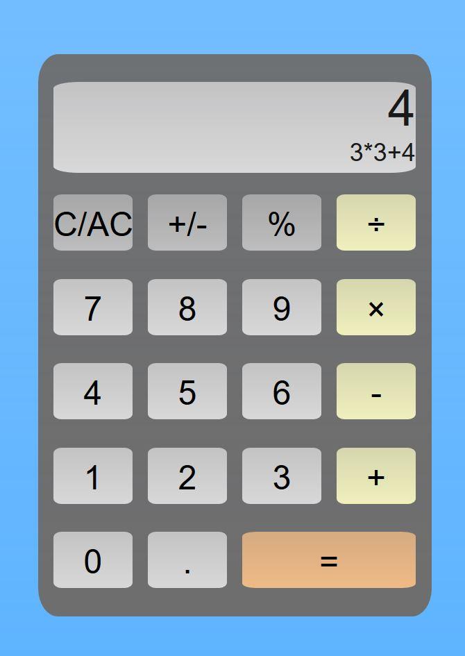 "[""JavaScript Calculator""]"