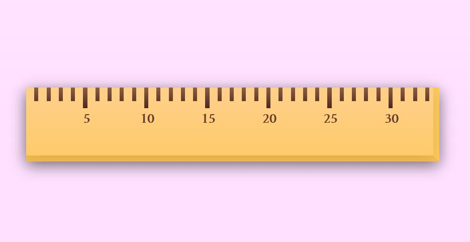 """[""""Ruler CSS Vector Graphic""""]"""